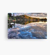 Sky Lake Canvas Print