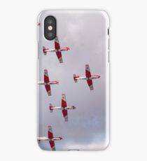PC-7 Team - Swiss Air Force iPhone Case