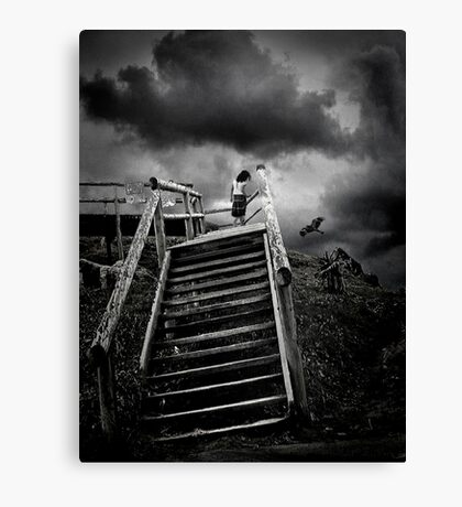 storm child Canvas Print