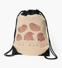 Cute Kiwi Birds 2 Drawstring Bag