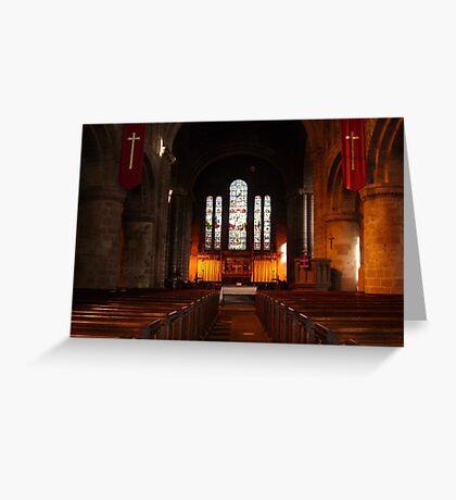 Saint John's Church Chester Greeting Card