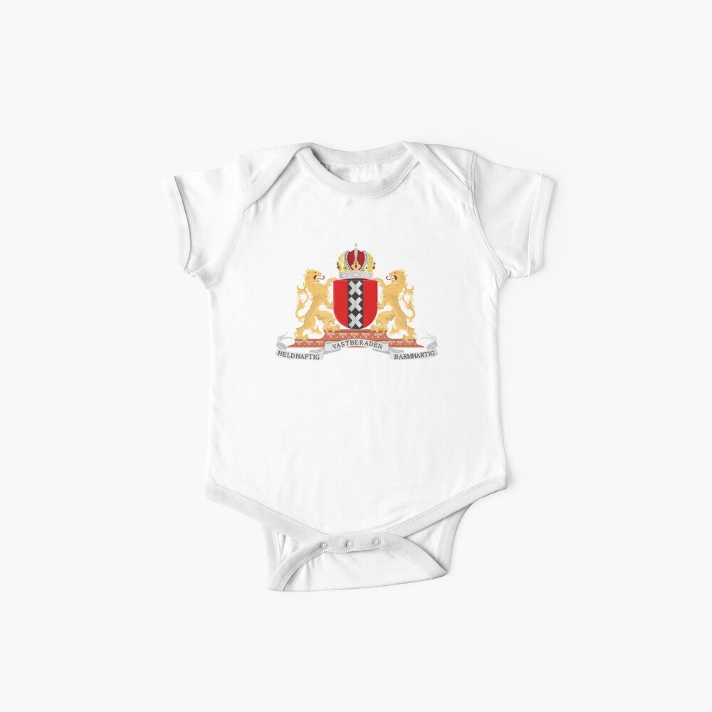 Amsterdam coat of arms Baby One-Pieces
