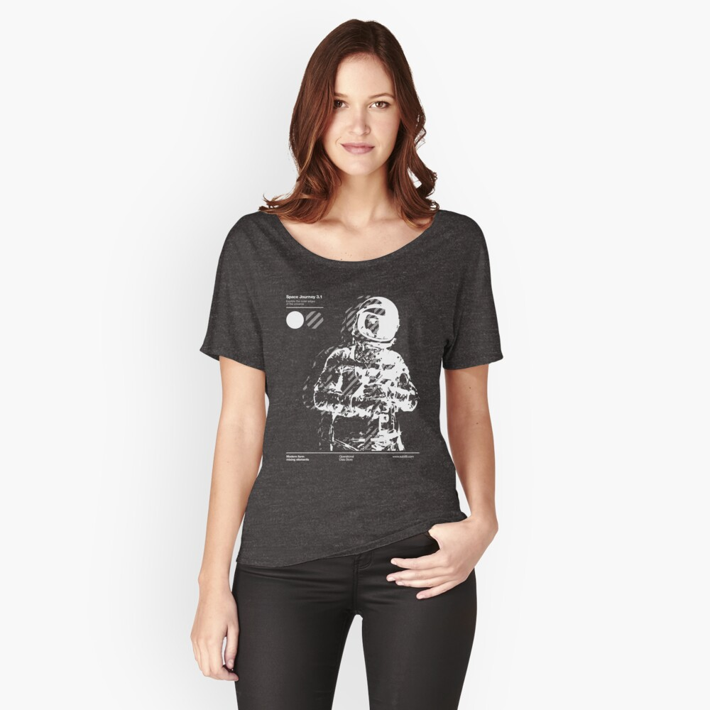 Space Journey 3.1 Women's Relaxed Fit T-Shirt Front