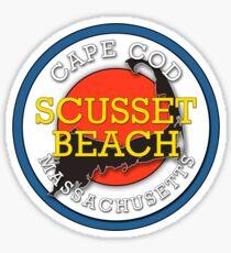 Scusset Beach - Cape Cod Massachusetts Sticker