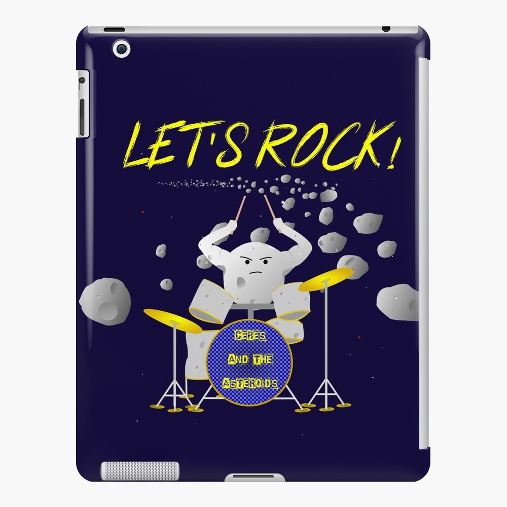 Let's rock with Ceres and the asteroids iPad Case & Skin