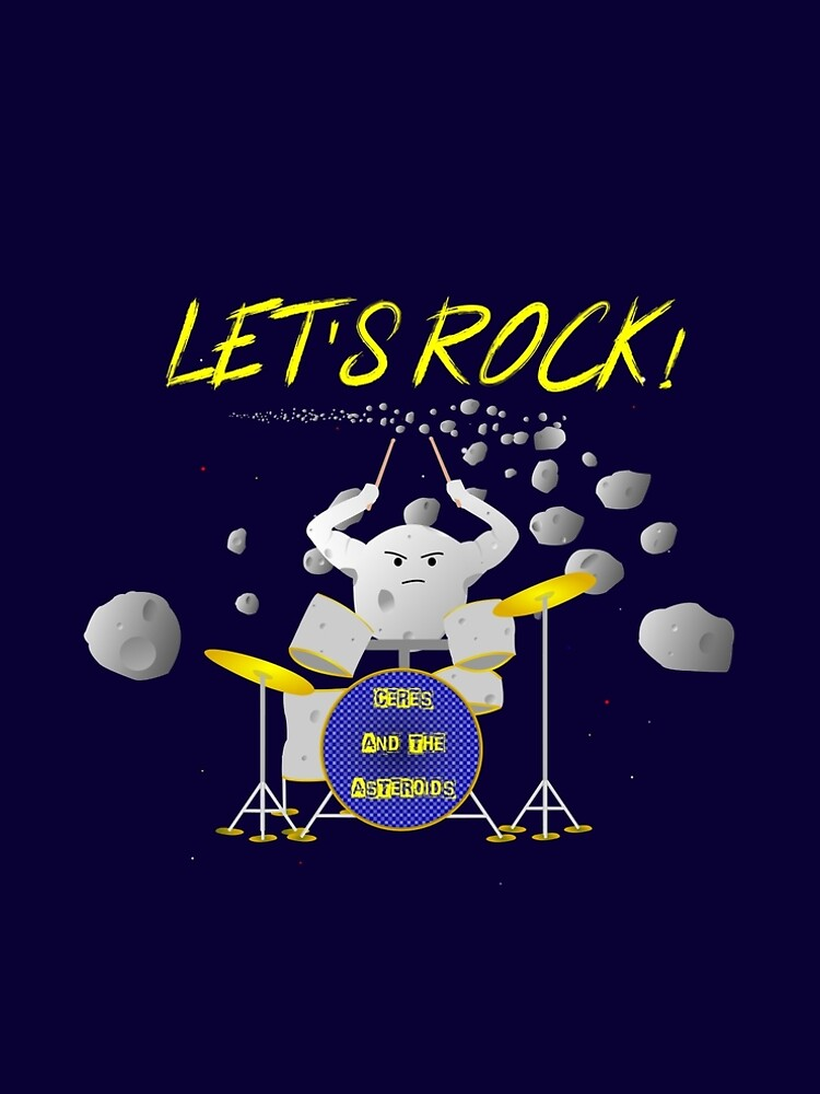 Let's rock with Ceres and the asteroids by robinm3