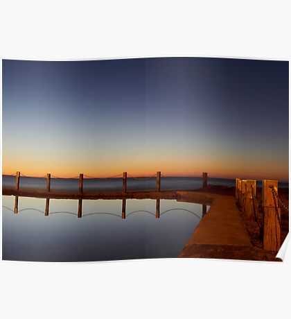 Mahon Pool Reflection Poster