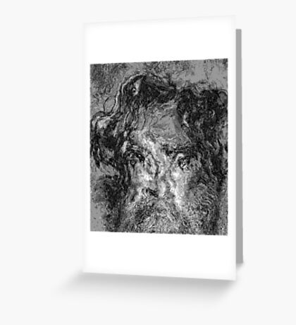 Abysses #2 - I am / We are Charles Greeting Card