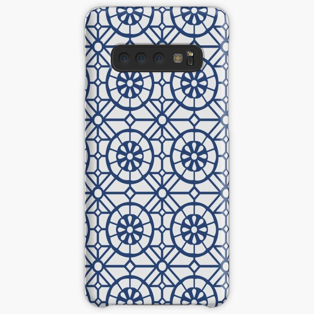 Azul Tiles (Blue on White) Case & Skin for Samsung Galaxy