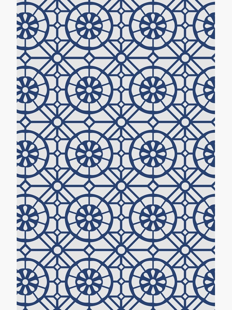 Azul Tiles (Blue on White) by lalainelim