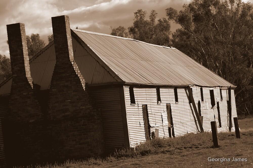 Shearer's Quarters, Tocumwal, Australia by Georgina James