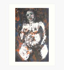 Life's traces (2) Art Print