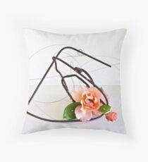 Ikebana-200 Throw Pillow