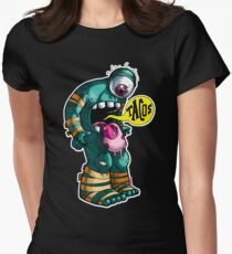 My Whole Body Wants Tacos Womens Fitted T-Shirt