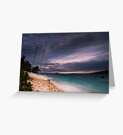 Tide is high Greeting Card