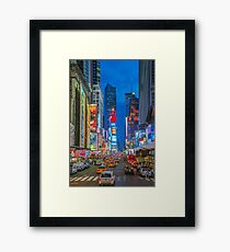 Times Square (Broadway) Framed Print