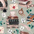 Books & Paper Illustration by sparklehorsette