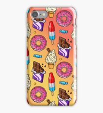 sweet tooth pattern iPhone Case/Skin