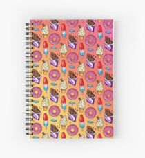 sweet tooth pattern Spiral Notebook