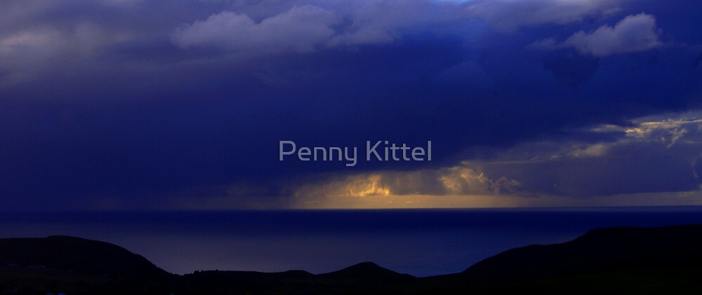 Storms over Sugarloaf by Penny Kittel
