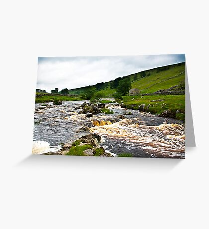 River Wharfe at Yockenthwaite  #2 Greeting Card