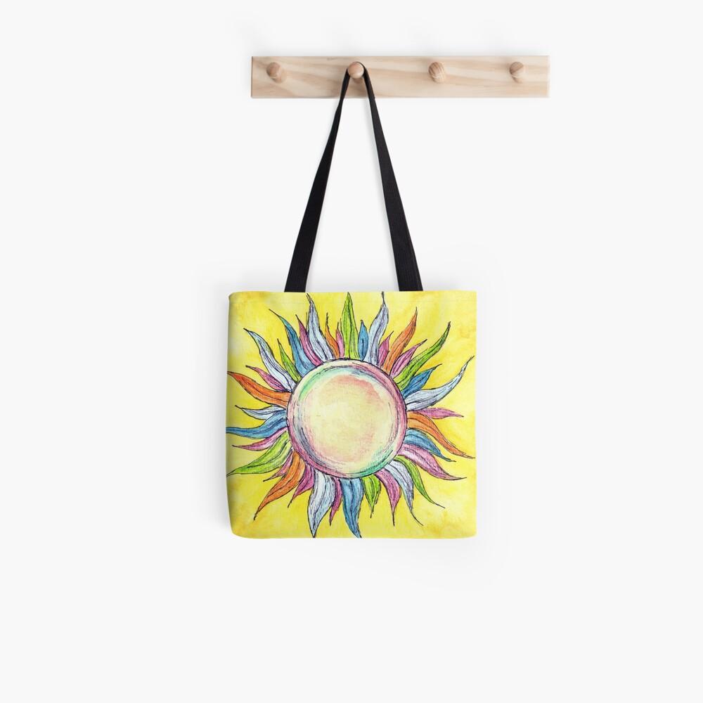 Mach deinen eigenen Sonnenschein Stofftasche