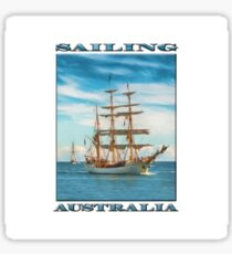 Sailing Grace (PC) Sticker