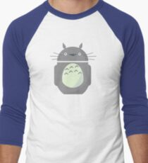 My Neighbor Totoroid Men's Baseball ¾ T-Shirt