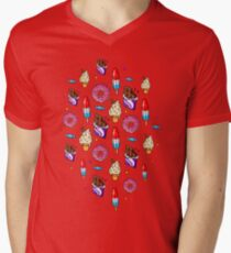 sweet tooth pattern T-Shirt