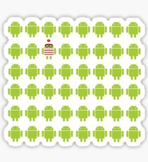 Where's Waldroid advanced Sticker