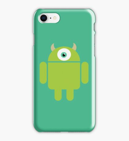 Mike Droidowski iPhone Case/Skin