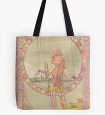 Steampunk Marionette Tote Bag