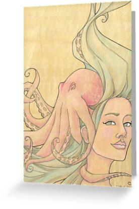 The Octopus Mermaid 7 by Karen  Hallion