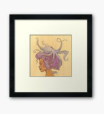 The Octopus Mermaid 4 Framed Print