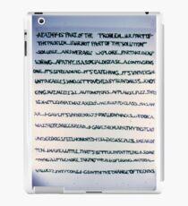 Apathy iPad Case/Skin