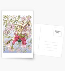 Fairy Tales with Flower Postcards