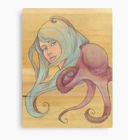 The Octopus Mermaid 3 Canvas Print
