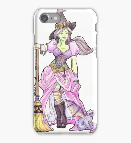 Steampunk Wicked Witch of the West iPhone Case/Skin