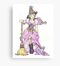Steampunk Wicked Witch of the West Canvas Print