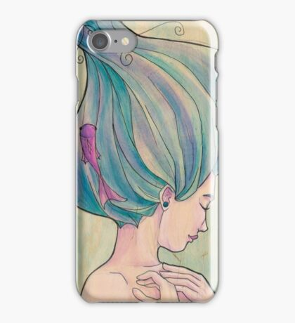 Tattooed Mermaid 10 iPhone Case/Skin