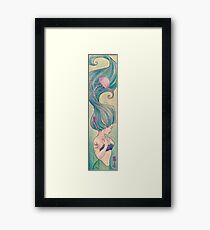Tattooed Mermaid 10 Framed Print