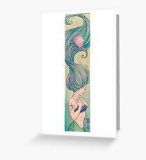 Tattooed Mermaid 10 Greeting Card