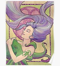 Tattooed Mermaid 9 Poster