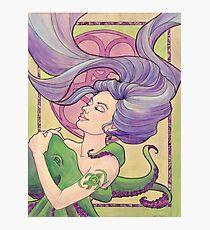 Tattooed Mermaid 9 Photographic Print