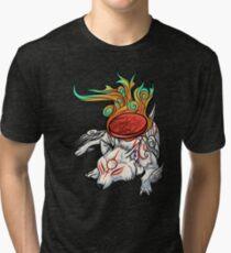 Okami - Amaterasu Rests Tri-blend T-Shirt