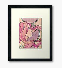 Tattooed Mermaid 5 Framed Print