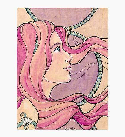 Tattooed Mermaid 5 Photographic Print