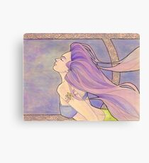 Tattooed Mermaid 4 Canvas Print