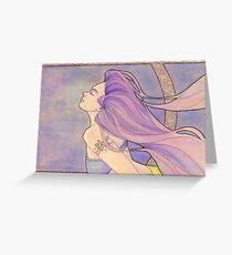 Tattooed Mermaid 4 Greeting Card