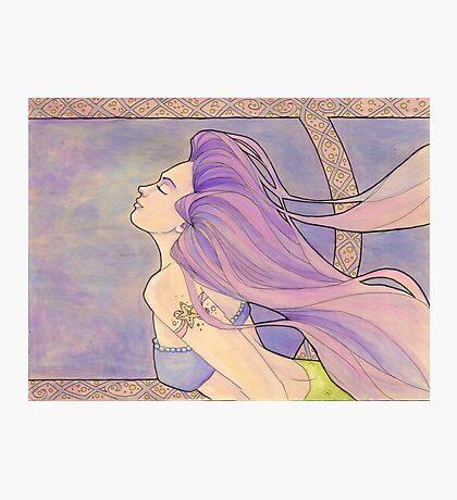 Tattooed Mermaid 4 Photographic Print